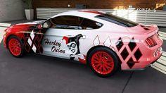 Harley quinn car