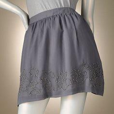 Jennifer Lopez Embellished Chiffon Skirt. cuteness