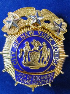 NYPD collectibles and badges Police Officer Badge, Police Chief, Police Badges, Fire Badge, Law Enforcement Badges, New York Police, Local Police, Police Patches, Ex Machina