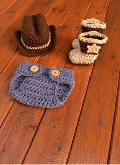 e22a3067de4 Newborn Cowboy Outfit Cowboy Hat and Boots Set Knit Cowboy Hat Crochet  Cowboy Hat and Boots Baby Cowboy Outfit Photo Prop Cowboy Photo Prop