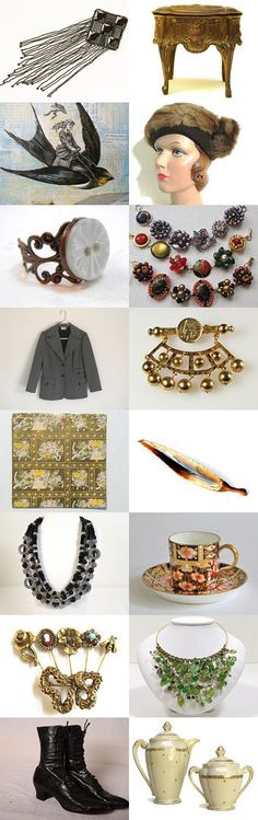 From Here To Eternity #voguet. Timeless Gifts. Happy Holidays from Vintage Vogue! Curator: pj from https://www.etsy.com/shop/seasidecollectibles