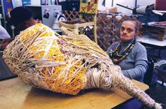 Judith Scott's mysterious fibre art, featured in Raw Vision 38. http://rawvision.com/articles/judith-scotts-metamorphosis Image: From Scott Ogden and Malcolm Hearn's 2009 film 'Make'.
