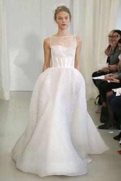 Angel Sanchez Spring 2014 Wedding Dresses: A Modern Architectural Collection With Feminine Details