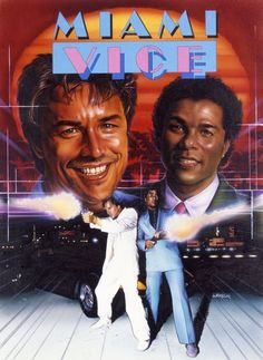 Miami Vice I remember all of the older people taking about this show. Lots of white suits started popping up. Don Johnson, Vice Tv Show, Neon Noir, Michael Thomas, Retro Videos, Florida, Miami Vice, Classic Tv, Favorite Tv Shows