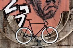"""""""Felix"""" hand made fixed gear bicycle by Ferrivecchi cicli"""