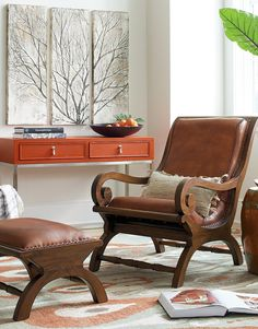 augusto chair and ottoman good books chairs and curls