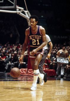 Dave Bing 12 seasons mainly with Detroit. Basketball Pictures, Love And Basketball, Sports Pictures, Basketball Diaries, Basketball Stuff, Sports Images, College Basketball, National Basketball League, Syracuse Basketball