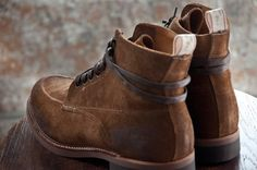 "rag & bone ""Made in America"" Boots in Black and Brown"