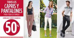 Promociones Suburbia en Capris y Pantalones Las tiendas Suburbia para este fin de semana cuentan con muy buenas ofertas y promociones ya que tienen 2×1 y medio en todos los capris (Pues en la compra de unos pantalones aplica un 50% de descuento en los segundos, que siempre serán de igual o m... -> http://www.cuponofertas.com.mx/oferta/promociones-suburbia-en-capris-y-pantalones/