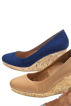 Women's Shoes - Next Closed Toe Wedges