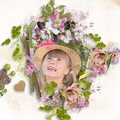 Layouts, Art Pieces, Floral Wreath, Scrap, Wreaths, Creative, Collection, Design, Home Decor