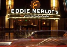 MAKE IT SPECIAL. MAKE IT EDDIE MERLOT 'S.    When you want to make an impression, there's only one name you can trust. Only one place you can go when everything must be right. When you want the best in food, wine, and service for your special event, there's only one Eddie Merlot's.