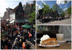 Το Winkel 43 στο Jordaan του Άμστερνταμ με τη διάσημη Μηλότιτά του Table Decorations, Recipes, Home Decor, Decoration Home, Room Decor, Ripped Recipes, Home Interior Design, Cooking Recipes