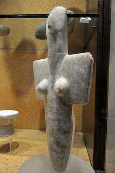 Sardinian Neolithic Idol. National Archeological Museum, Cagliari