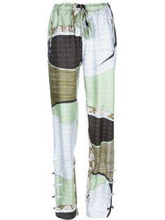 Emilio Pucci silk trouser