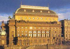 Biljetter till opera, teater och konserter i Prag Czech Republic, Big Ben, Taj Mahal, Opera, Building, Travel, Viajes, Opera House, Buildings