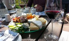 Delheim by Lauren Morling Cheese And Wine Tasting, Farms, South Africa, Dishes, Places, Food, Homesteads, Tablewares, Essen
