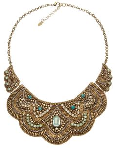 Stunning Bib #Necklace.  http://fashion-opolis.blogspot.com/2012/06/make-statement.html