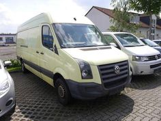 VW Crafter 35 TDI Lang Hoch, PDC, 6 Gang, eFH, Transporter Kastenwagen Hochdach…