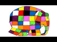 El elefante Elmer - David McKee - Cuentos infantiles - YouTube
