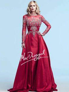 Red Formal Gown | Mac Duggal 82152Y
