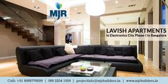 Looking for lavish #Apartments in Electronic City Phase-I in #Bangalore? We offer the best-in-class residences at the most competitive price. Give us a call on: +91 80 22541950 for a site visit!