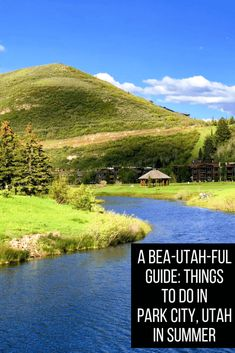 Things to do in Park City, Utah in Summer Months for a Bea-UTAH-ful Getaway - Travel Usa Travel Guide, Travel Usa, Travel Tips, Travel Info, Beach Travel, Solo Travel, Budget Travel, Travel Guides, Park City Utah Summer