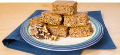 Pumpkin Protein Bars. OMG I just tried this and so so yummy!