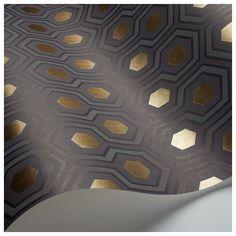 Commandez un échantillon - géométrie à l'élégance classique en 4 nouvelles teintes chic: gris anthracite, bleu canard et effets métallisés