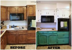 Kitchen Progress Part 2: Before and After - Mommy Envy