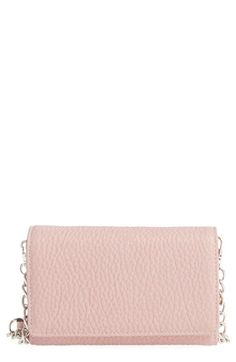 Phase 3 Faux Leather Wallet on a Chain available at #Nordstrom
