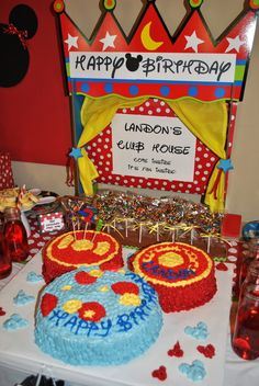 Mickey Mouse Cluehouse Birthday Party