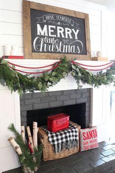 Farmhouse Christmas Home Tour - Beneath My Heart