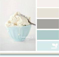 palhetas de cores