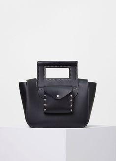 Square Small Bag in Natural Calfskin - Céline