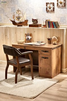 Draw out your battle plans, navigate through treasure maps on the captains desk. With enough compartments to keep your desk organized, this versatile desk is a must for any young pirate who is in business of dominating the high seas. Kids Furniture, Furniture Decor, Furniture Sets, Desk Organization, Corner Desk, Bookcase, Kids Room, Chair, Bed