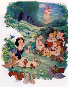Snow White and the Seven Dwarfs I love Snow White so much. I think she's so under rated Snow White and the Seven Dwarfs I love Snow White so much. I think she's so under rated Disney Kunst, Arte Disney, Disney Pixar, Film Disney, Disney Villains, Disney Mickey, Snow White 1937, Snow White Seven Dwarfs, Snow White Art