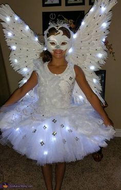 Swan Halloween Costume Idea