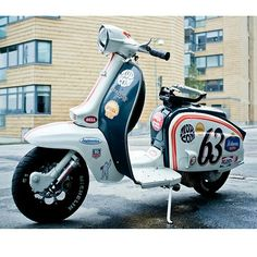 Custom Classic Cars Printing Videos Architecture Home Retro Scooter, Lambretta Scooter, Scooter Girl, Vespa Scooters, Scooter Images, Honda Metropolitan, Motor Scooters, Vintage Motorcycles, Motorbikes