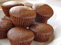 шоколадные кексы фото