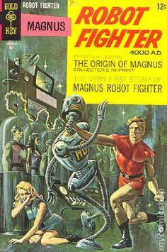 Magnus Robot Fighter (1963 Gold Key) 22