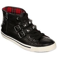 Arizona Alanis High-Top Sneakers via jcpenney