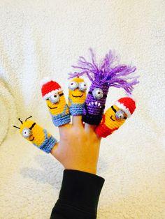 I WANT, I WANT, I MUST HAVE!!!! Finger puppets https://www.facebook.com/DoubleTrebleTrinkets