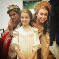 """""""Anastasia"""" - Three Anastasias on Anastasia's birthday!!! Only two shows left!!"""