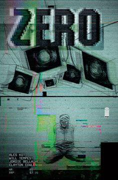 ZERO #5 cover design. Art by Will Tempest.