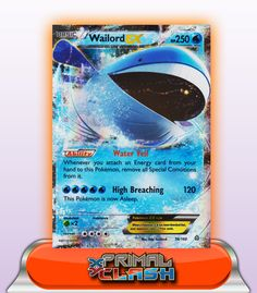 WAILORD EX HP250 - 38/160