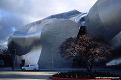 EMP - Experience Music Project in Seattle.  Far out!