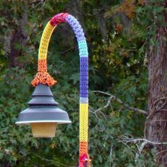 Riverfront Park in Conway, SC, Has Been Bombed! Yarn Bombed That Is. Knit Art, Crochet Art, Learn To Crochet, Yarn Bombing, Street Art Graffiti, Chalk Art, Urban Art, Artist At Work, Installation Art