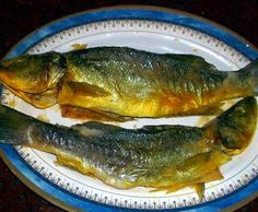 فسيخ فلسطيني -palestinian salted fish - a meal  for next day after ramadan is finished