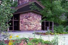 Sugarlands Visitor Center • Begin your exploration of the Smoky Mountain National Park at the visitors center.